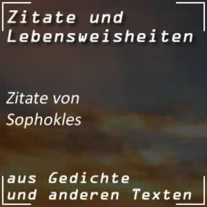 Zitate von Sophokles