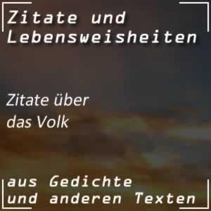 Zitate Volk Spr�che