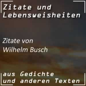Zitate Wilhelm Busch Sprüche