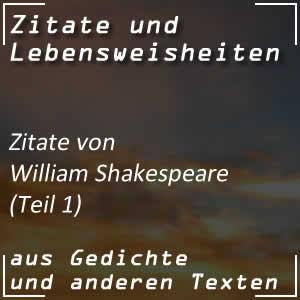 Zitate William Shakespeare Spr�che