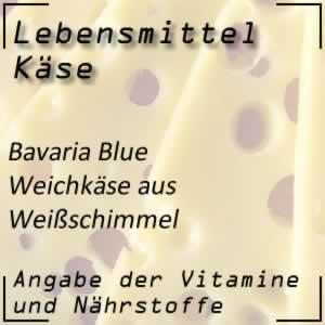 Lebensmittel Bavaria Blue Käse