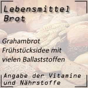 Lebensmittel Grahambrot