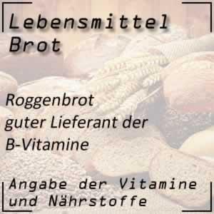 Lebensmittel Roggenbrot