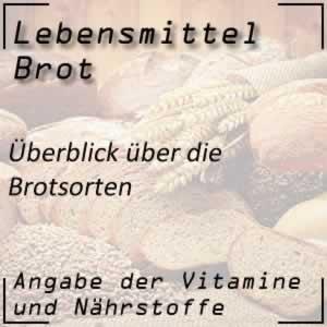Brot / Brotsorten
