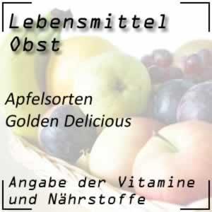 Obst Kernobst Apfel Golden Delicious