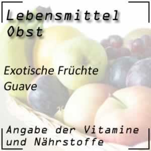 Lebensmittel Guave