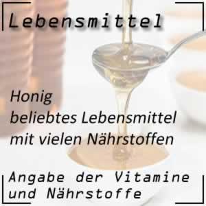 Honig mit vielen Vitaminen