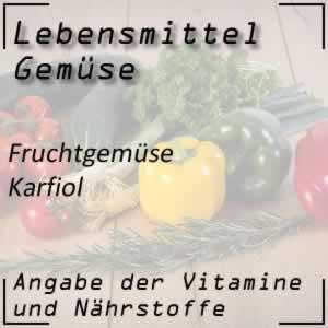 Lebensmittel Karfiol