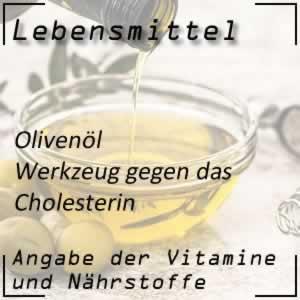Olivenöl - Hilfe bei Cholesterin