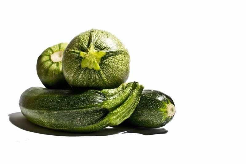 Lebensmittel Zucchini
