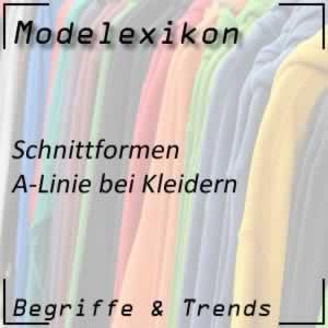 A-Linie bei Kleidern
