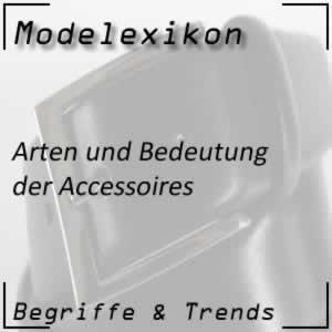 Accessoires in der Modewelt
