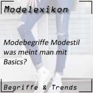 Basics in der Mode
