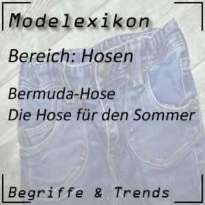 Mode Bermuda-Hose