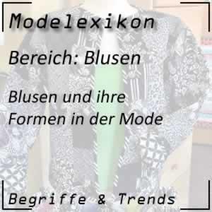 Blusen in der Modewelt