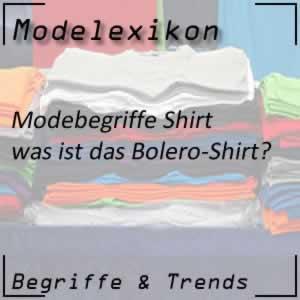 Bolero-Shirt