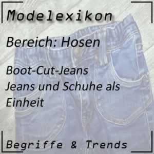 Mode Boot-Cut-Jeans