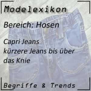 Mode Capri Jeans