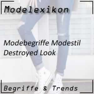 Mode Destroyed Look