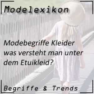 Mode Etuikleid
