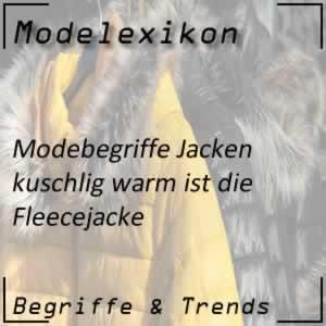 Fleecejacke: sehr warme Jacke