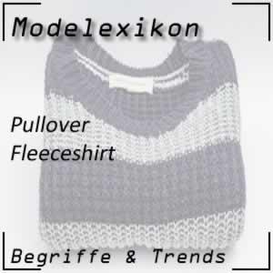 Fleeceshirt: sehr warmer Pullover