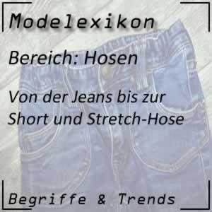 Hosen in der Modewelt