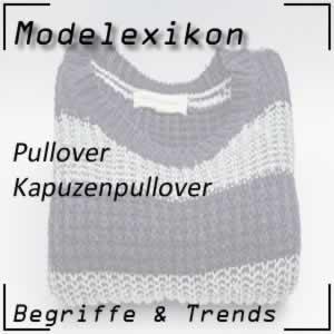 Kapuzenpullover: Pullover mit Accessoire