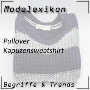 Kapuzensweatshirt: warmer Pullover mit Kapuze