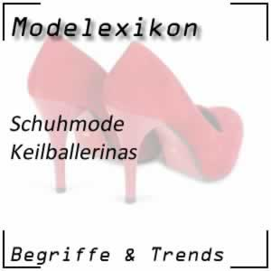 Mode Keilballerinas