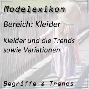 Kleider in der Modewelt