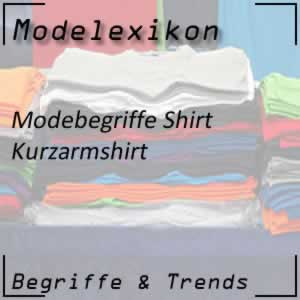 Kurzarmshirt: typisches Shirt