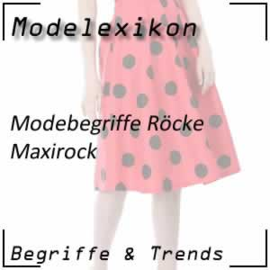 Maxirock: Rock bis zum Knöchel