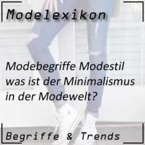 Mode Minimalismus
