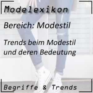 Modestil in der Modewelt
