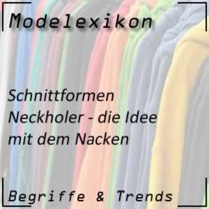 Neckholder: schulterfreie Mode
