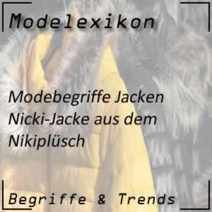 Mode Nicki-Jacke