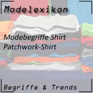 Patchwork-Shirt: Shirt mit verschiedene Muster