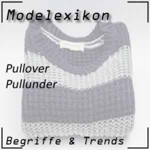 Pullunder: dünner Pullover