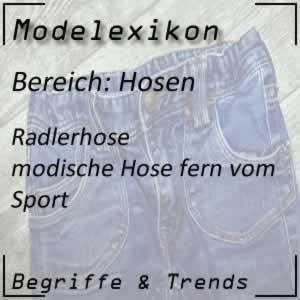 Mode Radlerhose