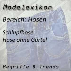 Mode Schlupfhose
