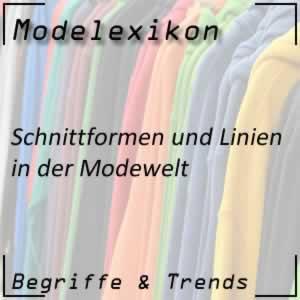 Schnittformen in der Modewelt