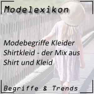 Mode Shirtkleid