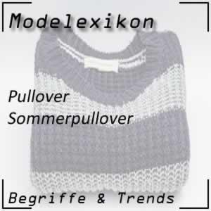Sommerpullover: leichter Pullover
