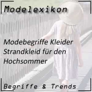 Mode Strandkleid