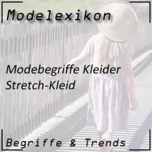 Mode Stretch-Kleid