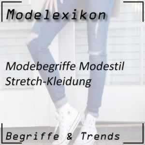 Stretch-Kleidung: Mode mit dehnbarem Stoff