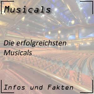 erfolgreichste Musicals aller Zeiten