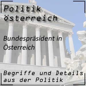Bundespräsident in Österreich