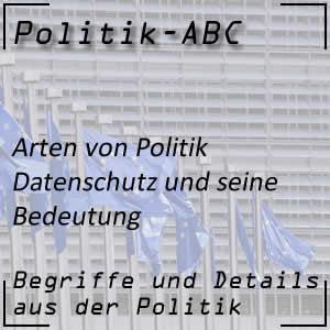 Datenschutz in der Politik